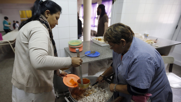 Los comedores benefician a 1.600.000 alumnos bonaerenses
