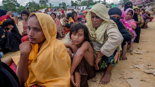 Entre los refugiados hay 1.100 niños solos, 36.000 de menos de un año y 52.000 mujeres embarazadas o que amamantan