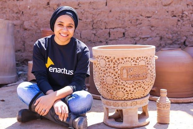 Raowia Lamhar y su invento