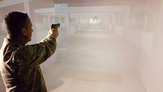 En Tandil crearon un simulador de polígono de tiro