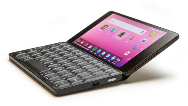 La Gemini PDA usa Android 7.1, tiene teclado y dos puertos USB-C para ampliar sus funciones