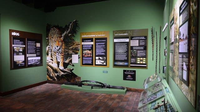 Un rincón para el Yaguareté, en el Museo de la Reconquista