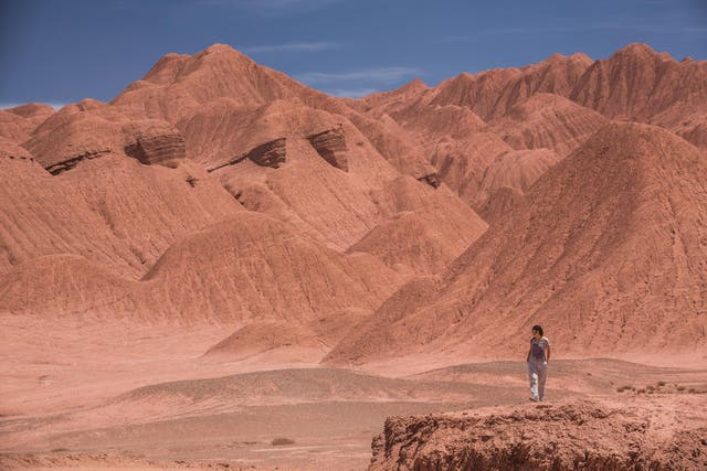 Desierto del Diablo. Foto: Sebastián Pani