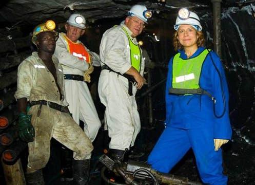 Cynthia Carroll, directora ejecutiva de la minera Anglo American. Foto: Anglo American Photo