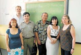 Estudiantes y profesores en el Centro Universitario de Idiomas