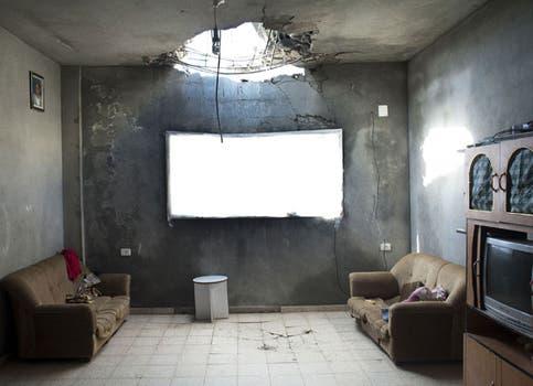 Kent Klich, de Suecia, ganó el primer premio en General News con una foto tomada en la ciudad de Tuzzah, en la Franja de Gaza. Foto: lanacion.com