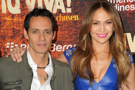Jennifer y Marc Anthony. Foto: Getty Images