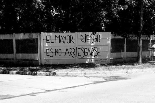 Acción Poética Belgrano, provincia de Buenos Aires. Foto: Facebook