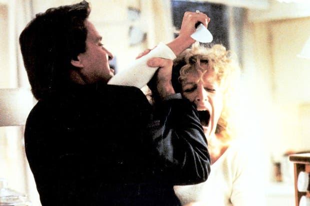La escena en donde Glenn Close va por todo... y se queda sin nada.