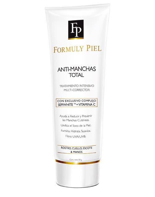 AntiManchas Total.Con Vitamina C en alta concentracion. Efecto despigmentante ($205, Formuly Piel).