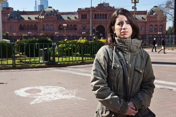 Victoria, en la Plaza de Mayo, donde las madres pelearon por sus hijos desaparecidos