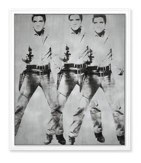 Triple Elvis (Ferus Type), de Andy Warhol, se subastó por 81.9 millones de dólares en Christie's de Nueva York