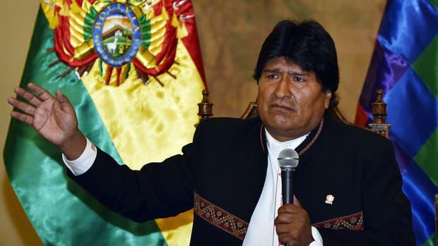 Evo Morales reconoció el no