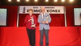 Los ganadores del premio Konex de Brillante, José Emilio Burucúa y Aída Kemelmajer de Carlucci