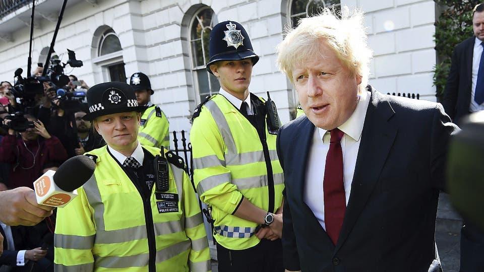 El canciller inglés, Boris Johnson foto: EFE ANDY RAIN