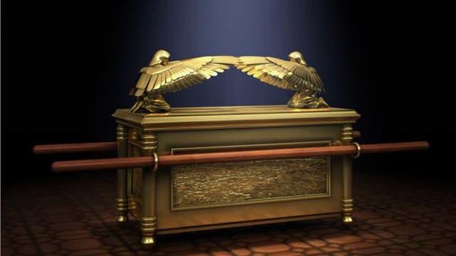El arca de la Alianza, tan legendaria como el templo que la guardaba.