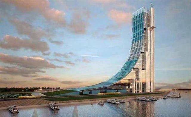 El proyecto: la iniciativa del kirchnerismo: un edificio de 335 metros de altura