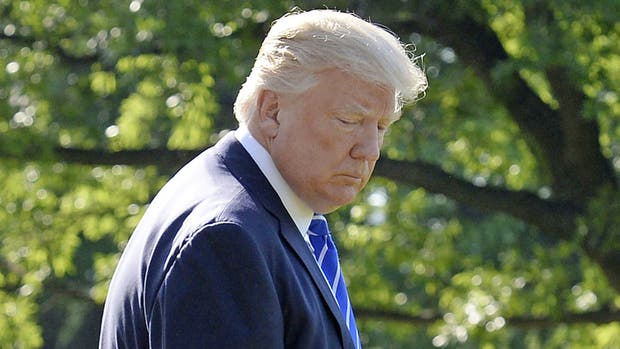 El presidente de EE.UU, Donald Trump