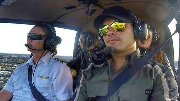 El piloto Alejandro Radetic pidió perdón en una publicación de Instagram, en la que se lo ve a bordo de un helicóptero
