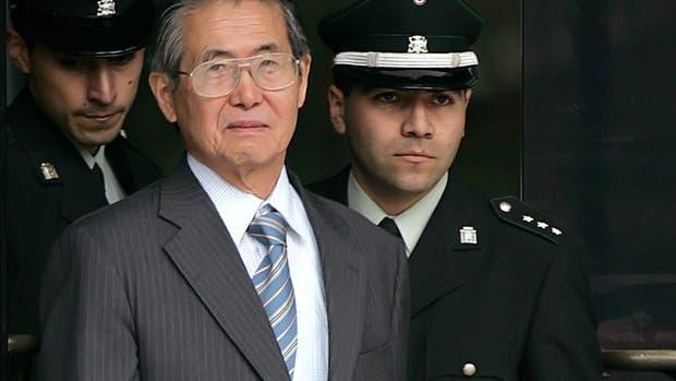 El ex presidente de Perú Alberto Fujimori