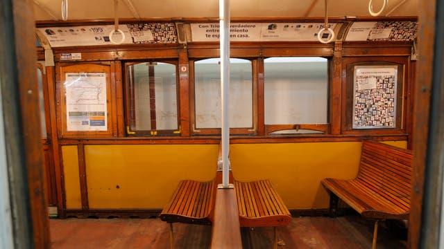 Se realizarán 4 paseos turísticos en vagones restaurados