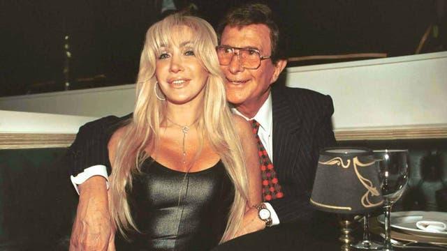 Giselle Rímolo y Silvio Soldán, en una foto de archivo de 2001