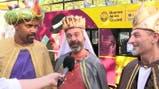 Los Reyes Magos comienzan su recorrida por Buenos Aires en Plaza Italia