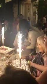 El festejo del cumpleaños número 91 de Mirtha Legrand