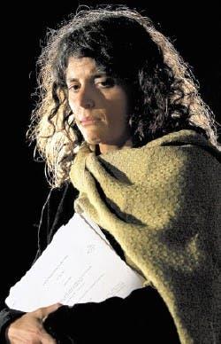 Romina Picolotti, en una imagen de sus primeros días en el Gobierno