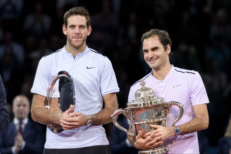 El mensaje de Del Potro para Federer