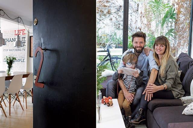 Después de remodelar la cocina y agrandar el primer piso para sumar un cuarto, Ernesto y Roxana ambientaron su casa con estilo fresco y toda la onda