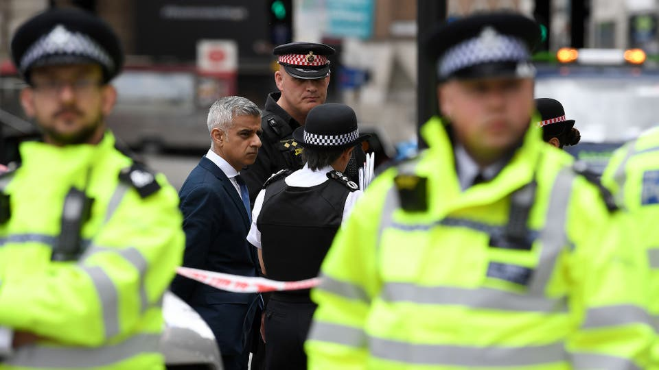 La caminata de los terroristas antes de la masacre en Londres
