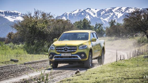 Mercedes-Benz Clase X, ágil y rápida en todos los terrenos