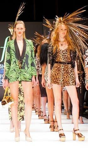 Falabella. La tienda organizó anoche su superdesfile, el Fashion Editorial Show