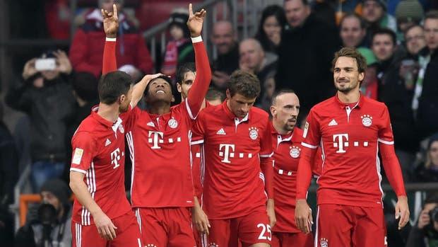 Alaba marcó el segundo tanto en el 2-1 de Bayern Munich ante Werder Bremen