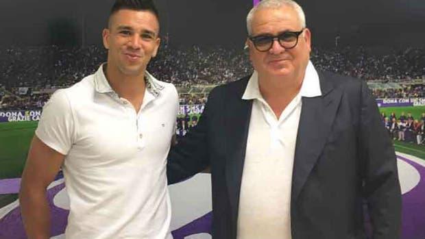 Simeone se ilusiona con su nuevo club Fiorentina