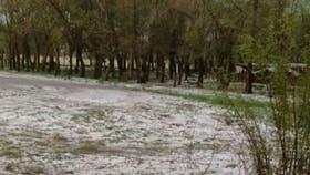 Un tornado afectó una amplia extensión de campos en Huinca Renancó F