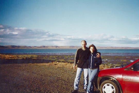 Con Horacio, hermano de Marita. Foto: Facebook / Susana Trimarco