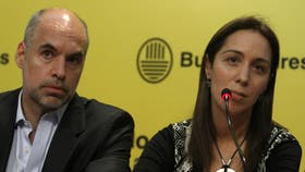 Macri almorzó con Vidal y Rodríguez Larreta para pulir la estrategia con los gremios