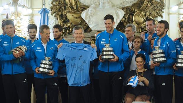 Argentina ganó su primera Copa Davis