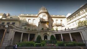 La sede de la Nunciatura Apostólica, ubicada en la Avenida y Alvear y Montevideo