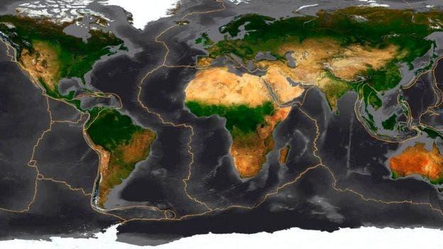 La Tierra es un mosaico de placas tectónicas