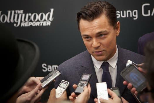 Leonardo DiCaprio habló con los medios antes de la premiere de su último trabajo, Django Unchained, en Nueva York. Foto: Reuters