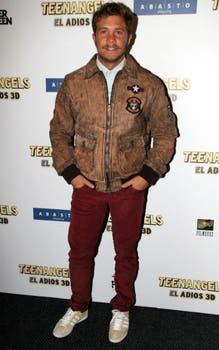 Nico Riera, en la premierte de Teen Angels. Foto: Virtual Press