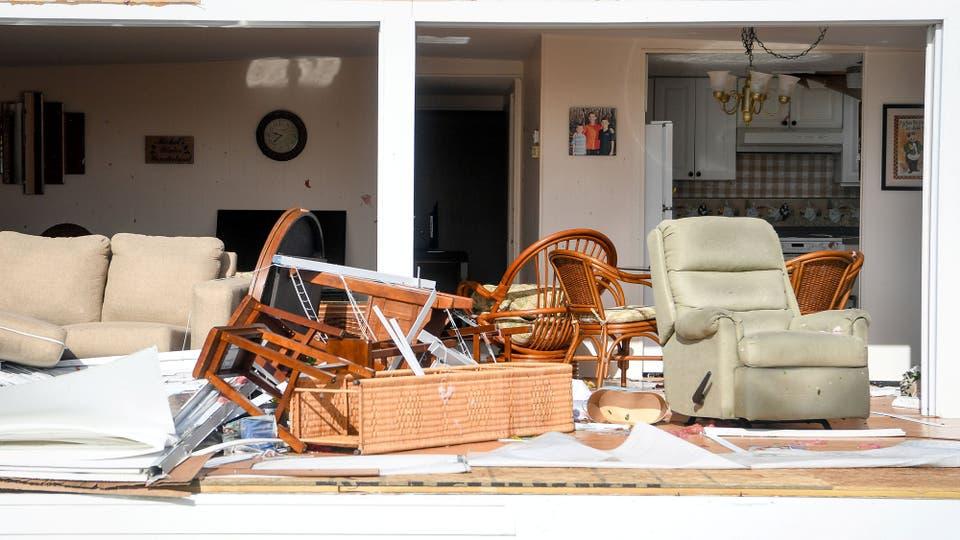 Miles de casa quedaron destruidas por completo. Foto: Reuters