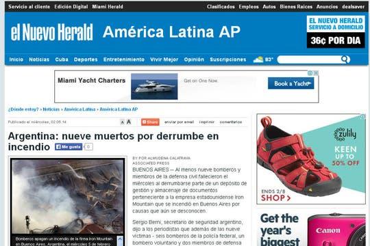 El Nuevo Herald, de EE.UU.. Foto: Archivo