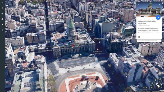 El nuevo Google Earth suma más información sobre todas las vistas disponibles, y una única versión Web
