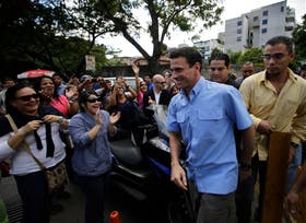Capriles logró retener la gobernación de Miranda en los comicios del domingo