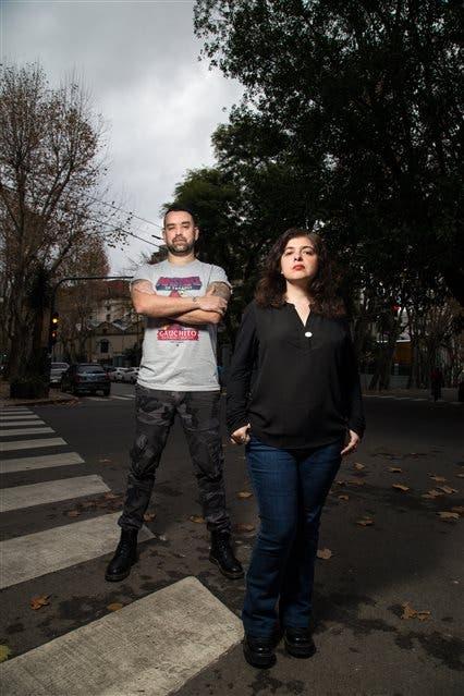 Leonardo Oyola y Mariana Enriquez. Foto: Ignacio Sánchez