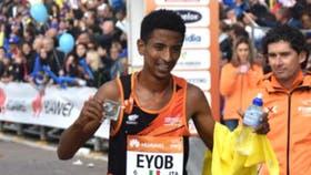 Faniel, el afortunado ganador del Maratón de Venecia